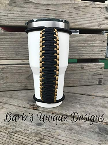 Glittered Epoxy - Handmade Custom paracord handles made to fit epoxy, vinyl, glittered, laser engraved, glossed tumblers