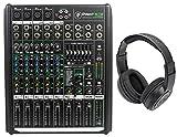8 ch mixer - Mackie PROFX8v2 Pro 8-Ch. Mixer w Effects+USB PROFX8 V2+Headphones