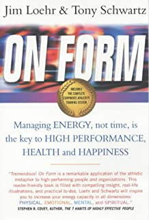 Be excellent at anything amazon tony schwartz catherine on form managing energy not time is the key to high performance fandeluxe Choice Image