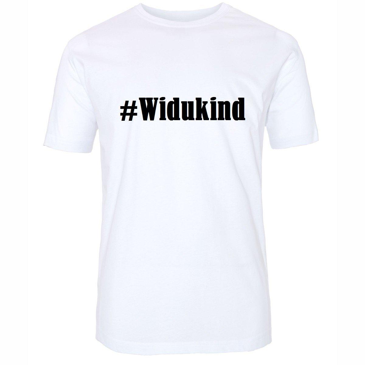 T-Shirt #Widukind Hashtag Raute für Damen Herren und Kinder ... in den Farben  Schwarz und Weiss: Amazon.de: Bekleidung