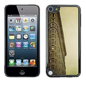 Be Good Phone Accessory // Dura Cáscara cubierta Protectora Caso Carcasa Funda de Protección para Apple iPod Touch 5 // Architecture Retro Ligthouse Sea