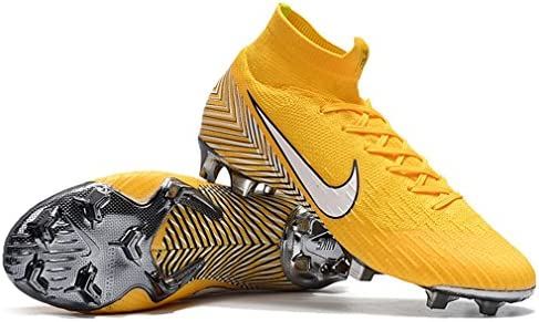 76d0efdc3c6 Ninakova2018 Men s High Ankle Soccer Cleats Mercurial Superfly 360 Elite FG  Neymar Jr Yellow
