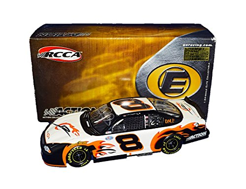 Dmp Series - AUTOGRAPHED 2003 Dale Earnhardt Jr. #8 Dirty Mo Posse Racing DMP FLAMES CAR (Busch Series) JR Motorsports Rare Signed RCCA Elite Collectible 1/24 NASCAR Diecast Car with COA (#2818 of 5,004 produced!)