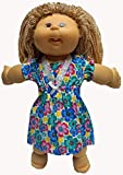 Doll Clothes Super store Bright Flower Nightgown Fits 15-16 and 14 Inch Cabbage Patch Kid Dolls