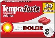 Tempra Forte 650 mg Paracetamol caja con 24 tabletas