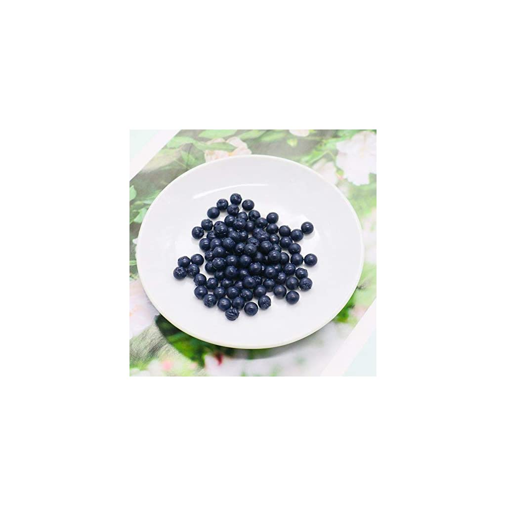 Buorsa-Pack-of-100-Artificial-Blueberry-Craft-Fake-Fruit-Blueberries-Home-House-Kitchen-Cabinet-Decoration