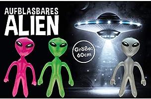 Krüger & Gregoriades 583290 - Hinchable Alien, 60 cm: Amazon.es ...
