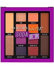 Maybelline New York Soda Pop Eyeshadow Palette, 0.26 Oz