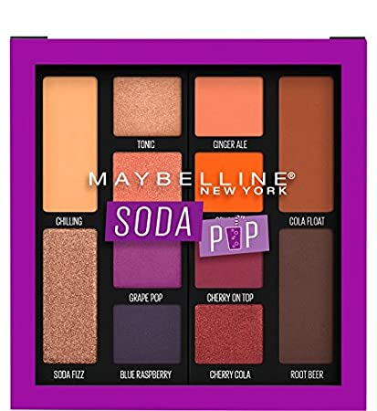 c2e0887684e Amazon.com : Maybelline Eyeshadow Palette Makeup, Soda Pop : Beauty