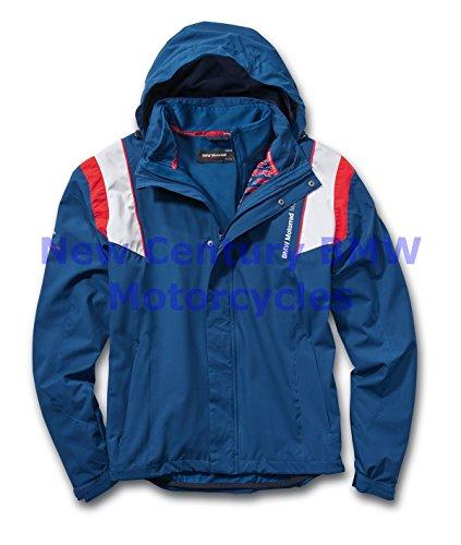 Bmw Riding Jackets - BMW Genuine Motorcycle Unisex Motorsport Riding Jacket Blue/White/Red L Large