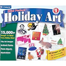 Cosmi CDRS551 Print Perfect Holiday Art