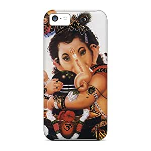 For Special-G Iphone Protective Case, High Quality For Iphone 5c Lord Ganesha Skin Case Cover