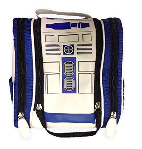 Star Wars Stormtrooper PU Dopp Kit Men Hanging Travel Toiletry Kit Cosmetic Bag
