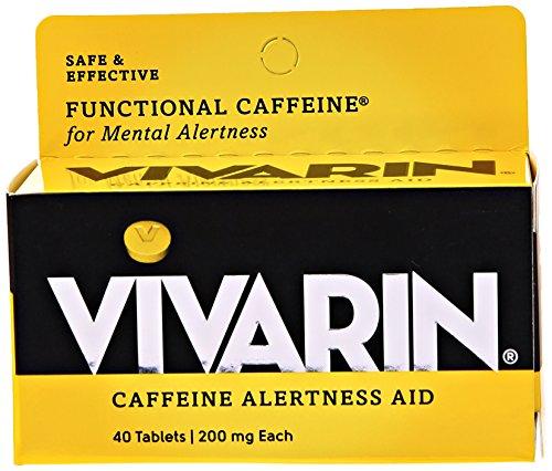 Vivarin Caffeine Alertness Aid, Tablets 40 ea Caffeine Alertness Aid Tablets