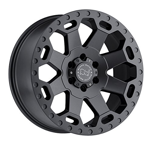 Black Rhino WARLORD Grey Wheel with Painted Finish (20 x 9. inches /6 x 139 mm, 12 mm Offset) ()