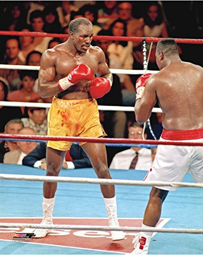 (Evander Holyfield Boxing Action Photo (Size: 8
