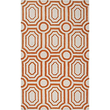 Angelo HOME By Surya Hudson Park HDP 2009 Contemporary Hand Tufted 100 Polyester Papyrus 2 6 X 8 Geometric Runner