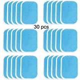 Abs Trainer Replacement Gel Sheet Abdominal Toning Belt Muscle Toner Ab Trainer Accessories 30pcs Gel Sheets for Gel Pad