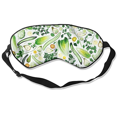 Sleep Mask Fruits Smoothie Eye Cover Blackout Eye Masks,Soothing Puffy Eyes,Dark Circles,Stress,Breathable Blindfold