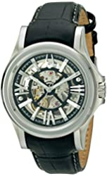 Bulova Men's 63A000 Analog Display Automatic Watch, Black