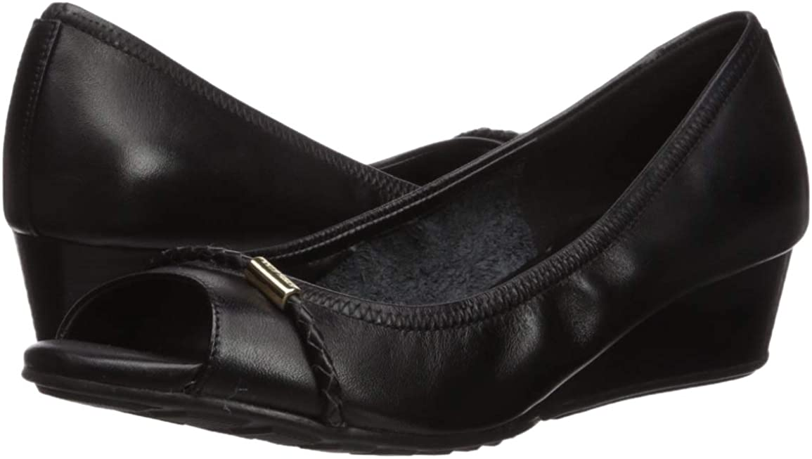 40mm Cole Haan Womens Emory Braided Band Open Toe Wedge Pump