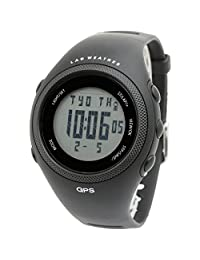 [LAD WEATHER] GPS Running watch Auto Lap/Odometer/PC connection/calorie counter GPS unit walking/ training sport watch
