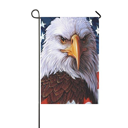 Eagle American Flag Polyester Garden Flag Outdoor Banner 12