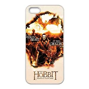 Personalized Durable Case Cover for iPhone 5,5S with Brand New Design The Hobbit
