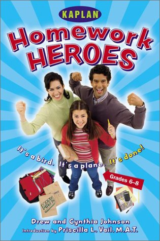 Read Online Homework Hero (Grades 6-8): A Parent's Guide to Helping Their Kids with Afterschool Assignments pdf epub