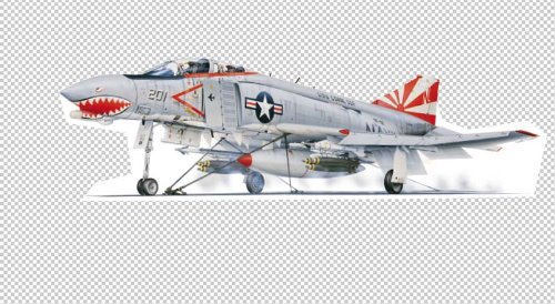 - Military Aircraft Wall Decals - Mcdonnell Douglas F-4B 48
