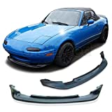 GT-Speed Made for 90-97 Mazda Miata MX5 GV Style Front PU Bumper Add on Lip
