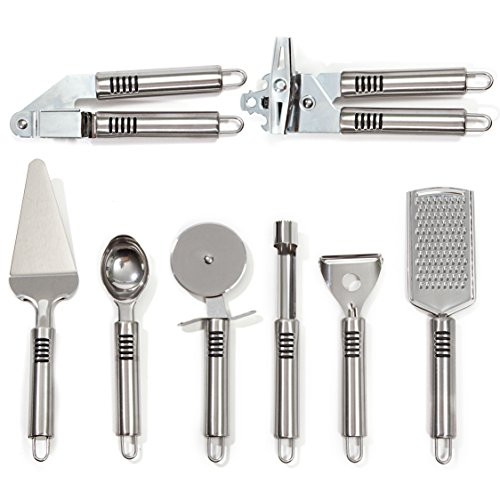 8 Piece Stainless Kitchen Gadget Grater product image