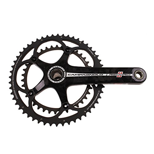 Campagnolo Record Carbon Ultra-Torque 11 Double Standard 39/52 Crankset 175mm