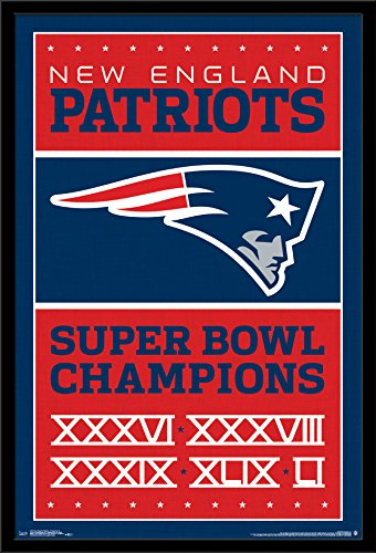 Trends International Wall Poster New England Patriots Champions