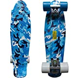 RIMABLE Complete 22' Skateboard BlueCamouflage