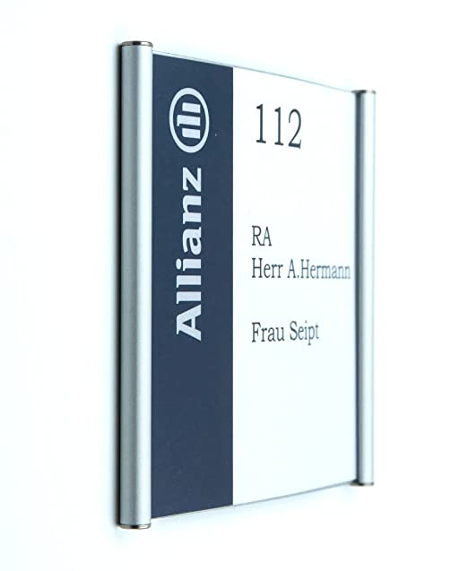 Puerta Cartel Primus, marco de aluminio, acrílico (163/150 ...