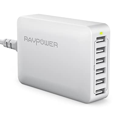 Review RAVPower 60W 12A 6-Port