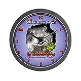 CafePress – Punxsutawney Phil's Shadow Wall Clock – Unique Decorative 10″ Wall Clock