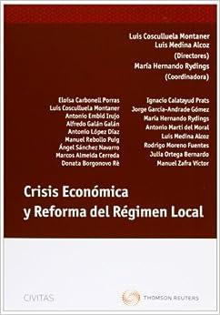 Descargar Libros Para Ebook Crisis Económica Y Reforma Del Régimen Local En PDF Gratis Sin Registrarse