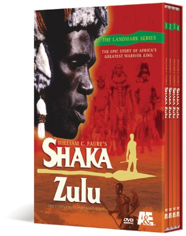 Shaka Zulu - The Complete 10 Part Television Epic by A and E Home Video