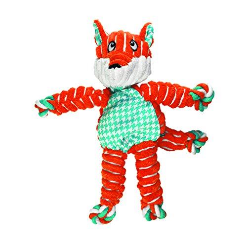 KONG Floppy Knots Fox, Dog Toy, Small/Medium