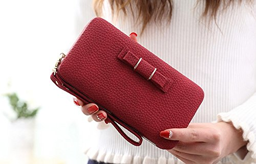 Chanel Scarf (Valentine's Sale!!! Lady's designer soft leather small clutch purse wallet card holder + FREE PURSE SCARF)