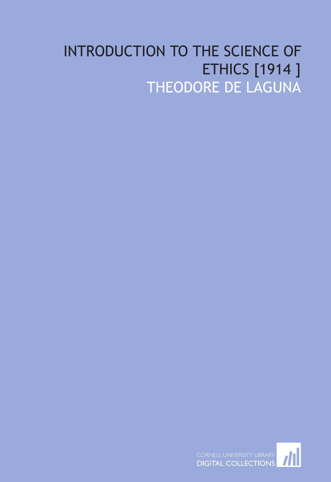 Download Introduction to the Science of Ethics [1914 ] ebook