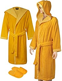 Faccia dei Colori Hooded Bath Robe Set | Made in Europe