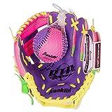 Franklin Sports Teeball Recreational Series Fielding Glove with Baseball, 9.5-Inch