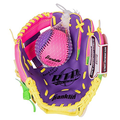 Franklin Sports Teeball Recreational Series Fielding Right Hand Glove with...