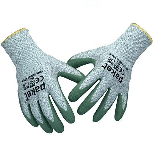 Pakel 5300-30-8 High Performance Non Slip Level 5 Cut Resistant Knit Wrist Gloves, Medium, 8 ()