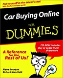 Car Buying Online for Dummies, Pierre Bourque, 0764506978