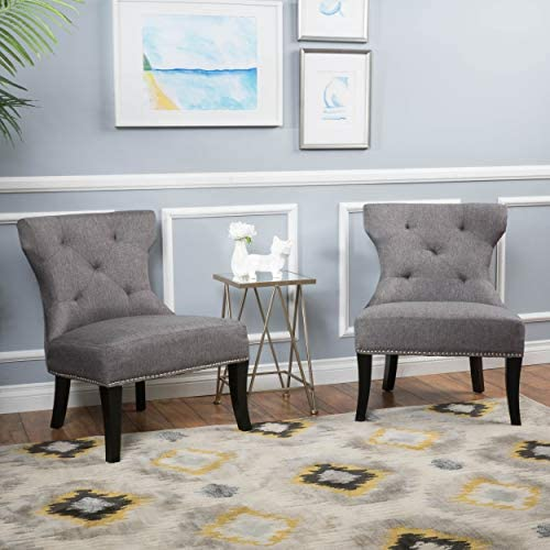 Christopher Knight Home Genevieve Fabric Accent Chair