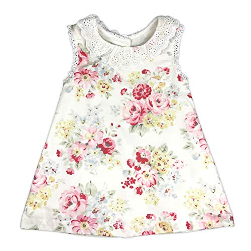 (Baly Selective Little Girls' Dress with Spring Bouquet Pattern (3-4 YRS / 100CM))